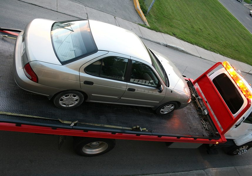 This is a picture of a spring towing service.